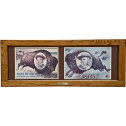 Buffalo Bill - Wild West Framed Prints