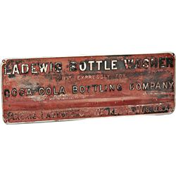 Original Factory Coca Cola Bottling Company Embossed