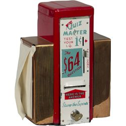 "1 Cent Quiz Master ""Test Your IQ"" Napkin Dispenser"