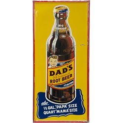 Dad's Old Fashioned Root Beer Embossed Self-Framed