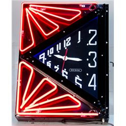 Blake Shane Metal Box 2-Color Neon w/ Clock
