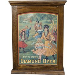 "Oak ""Diamond Dyes Cabinet"""