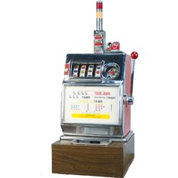 5 Cent Pace MFG. Co. 4-Reel Open Front Slot Machine