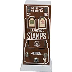 "Coin-Op Shipman MFG. Co. ""Two-Way Postage Stamp Vendor"""