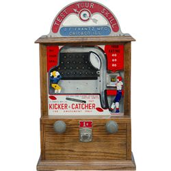 "J.F. Frantz MFG. Co. ""KICKER & CATCHER"" Flip Ball Skill"