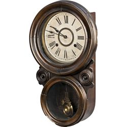 Oak Ansonia Wall Clock c1880's
