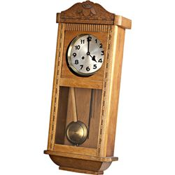 Oak German Wall Clock c1880's