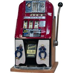 10 Cent Mills Novelty High-Top Jackpot Slot Machine c19