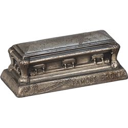 "Early ""The Boyertown Famous Bronze"" Casket Figural"