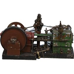 GTS BROS MFG. Co. Chicago Miniature Steam Engine Model