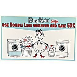 """KING KOIN Double Load Washers"" Double Sided Laundry"