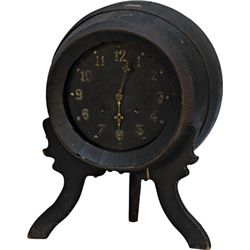 Ansonia Clock Co. Wine Barrel Counter Clock c1928