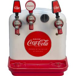 "Vintage Coca Cola Soda Fountain Counter ""Tombstone"""