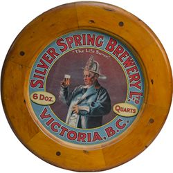 Silver Springs Brewery Ltd. Victoria, B.C. Advertisemen