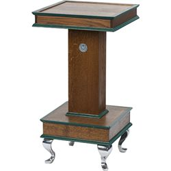 Wood Slot Machine Stand w/ Watling Decal