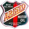 "Image 1 : ""ARISTO Motor Oil"" Tin & Neon Sign"