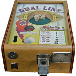 "5 Cent Exhibit Supply ""Goal Line"" Dice Spin Football Tr"