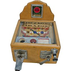 "5 Cent Western Automatic Machine Co. (WAMCO) ""Lite-A-Pa"