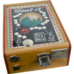 "5 Cent Exhibit Supply ""SPEL-IT"" Trade Stimulator c1933"