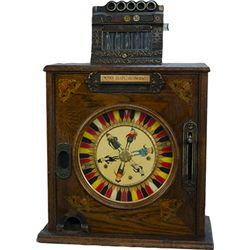 "5 Cent Mills Novelty ""Brownie Jackpot"" Counter Singl"