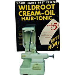 "5 Cent Merchandise Dispensers, Inc. ""Wildroot"" Lotion D"