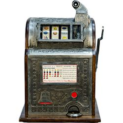 25 Cent Watling MFG. Co. O.K. 1776 Slot Machine