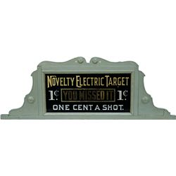 "Marquee  For ""Novelty ElectricTarget""  Machine - ""One C"