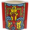 "Keith Haring Ceramic Rectangular ""Sculpture"" Produced"