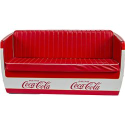 Vintage coca cola cooler couch c1950 39 s for Coole couch