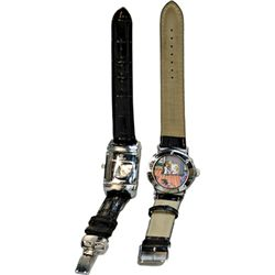 "Lot Of 2 ""Naughty"" Wrist Watches"