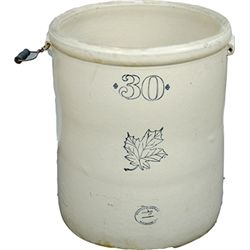 Early Western Stoneware Company 30 Gallon Crock