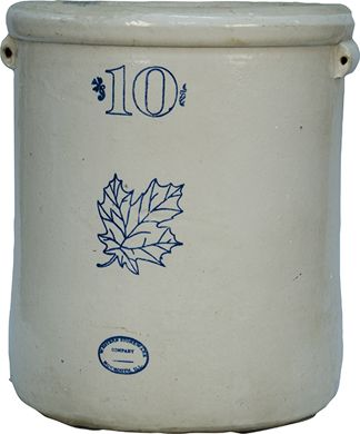 Early Western Stoneware Company 10 Gallon Crock Loading Zoom