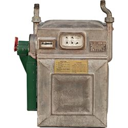 Early Coin-Op Metal Gas Meter By American Meter Company