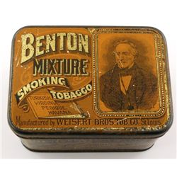 Benton Mixture Smoking Tobacco Tin
