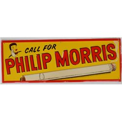 Philip Morris Sign