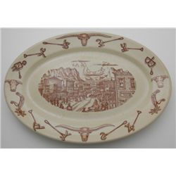 Wallace China El Rancho Platter