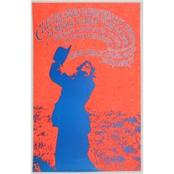 1968 Creedence Clearwater Revival Concert Poster