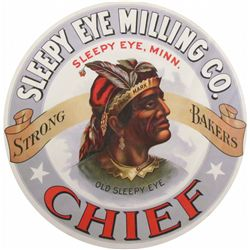 Sleepy Eye Milling Company Barrel Label