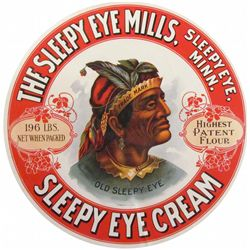 Sleepy Eye Mills Barrel Label