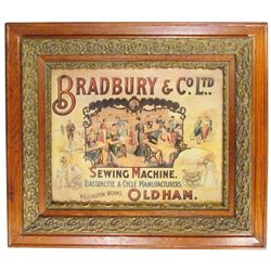Bradbury & Co. Ltd. Paper Sign