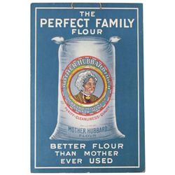 The Perfect Family Flour Cardboard Sign