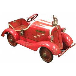 Toledo  Skippy  Fire Chief Pedal Car