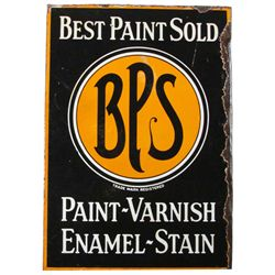 Best Paints Sold Heavy Porcelain Flange Sign