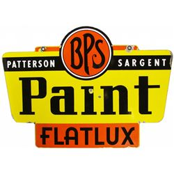 Patterson Sargent Paints Heavy Porcelain Sign