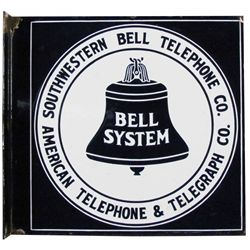 Southwestern Bell Telephone Porcelain Sign