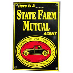 State Farm Insurance Co. Tin Sign