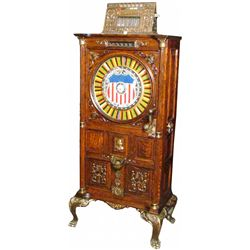 Mills Dewey Upright 25 cent Slot Machine