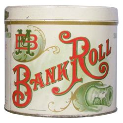 Bank Roll Cigar Tin for 50 cigars