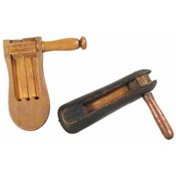 Two Wood Fire Rattles