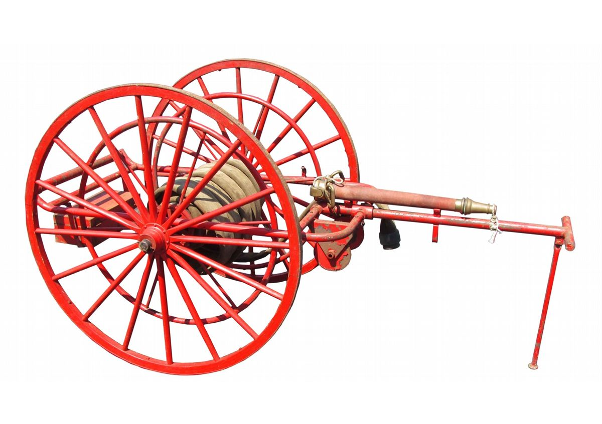 hose Vintage cart fire